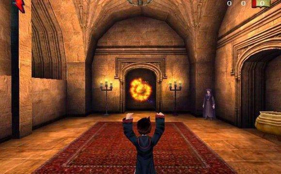 Скриншоты игры Гарри Поттер и