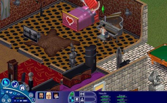 Скриншоты Sims 1: