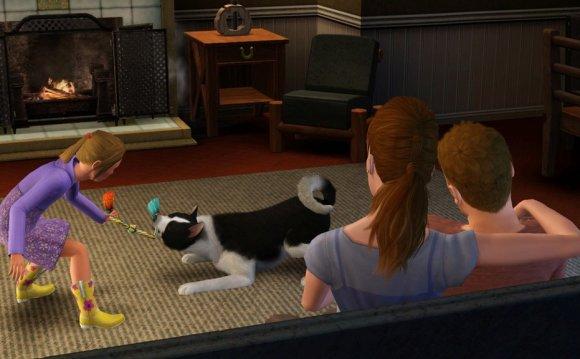 Скриншоты Sims 3 Pets: