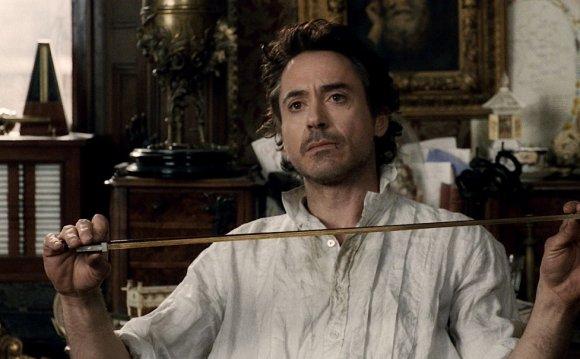Сцена из фильма Шерлок Холмс