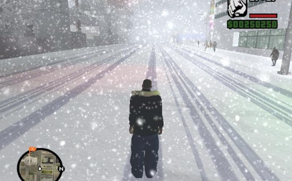 Скриншоты Gta San Andreas Snow