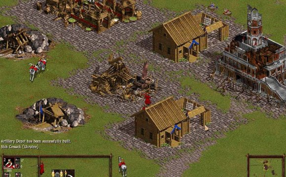 Скриншоты Cossacks Back to War