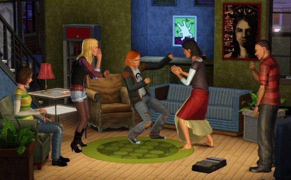 Скриншоты Sims 3: