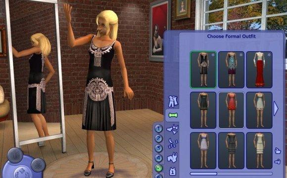 Скриншоты игры Sims 3