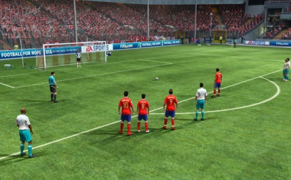 Скриншоты FIFA 2010: