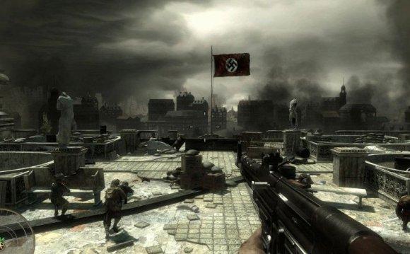 Скриншоты из игры Калл оф