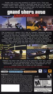 Grand Theft Auto: Liberty City Stories / GTA LCS (PSP/ISO/FULL/RUS/Patched)