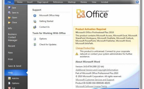 microsoft office 2010 скачать бесплатно торрентом с ключом