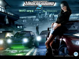 Need For Speed Underground 2 mod cry4 by 98xaray