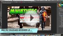Tutorial miniatura youtube \ photoshop cs6 para mac