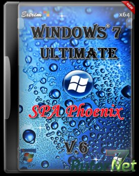 Windows 7 SP1 Ultimate v.6 (x64) (2014) [RU]
